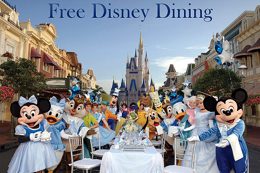 2017 FREE Disney Dining!